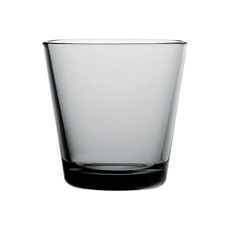Iittala Kartio Glas 2-pack 21 cl Grå