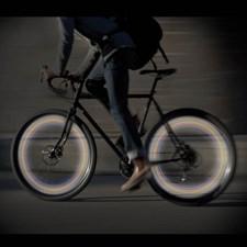 LED lampor för cykelhjul