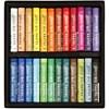 Gallery oljepastellkritor premium, tjocklek 10 mm, L: 7 cm, mixade färger, 24st.