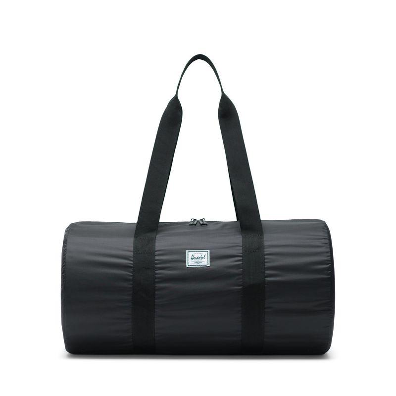 Herschel Packable Duffle Bag, Black