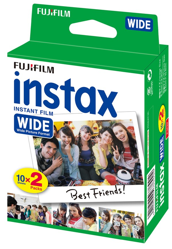 Film Instax Wide 300 Glossy 2x10-pack