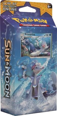 Poke Sun & Moon 1 Theme Deck, Primarina, Pokémon