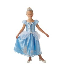 Maskeraddräkt Cinderella Storyteller, Strl 104, Rubies