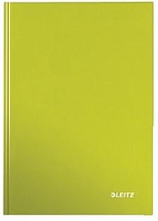 Notisbok LEITZ WOW A5 linjert grønn
