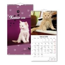 Väggkalender 2018 Burde Liten Kattkalender