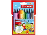 Ritpenna Fineliner StabiloPen 68 Mini Multi 0,4 mm 12 -pack