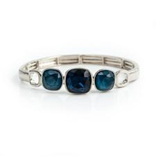 Glam Armband Armband, Dark indigo