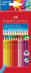 Faber-Castell Grip Fargeblyanter Akvarell 24 pakning