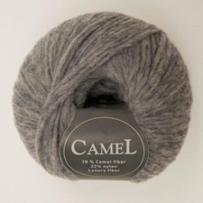 Viking of Norway Camel Garn Ullmix 50g Ljusgrå 213