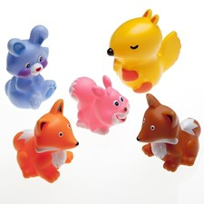Pieniä metsäneläimiä kylpyyn, 5 kpl, Rätt Start