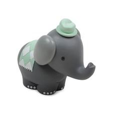 Form Living Stoja Figur Elefant 12x10cm Grå