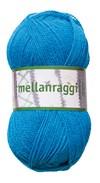 Mellanraggi Garn Ullmix 100g Turkos (28215)