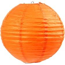 Paperilamppu, halk. 20 cm, 1 kpl, oranssi