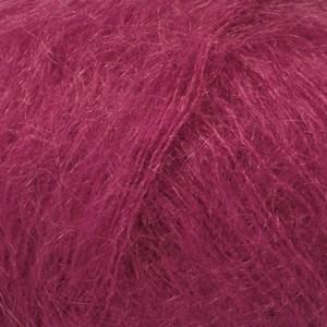Drops Kid- Silk Uni Color Garn Mohair Silke 25 g mörk rosa 17