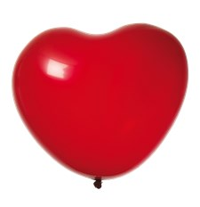 Hjerteballonger Røde 8-pack