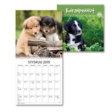 Seinäkalenteri 2019 Burde Koiranpennut