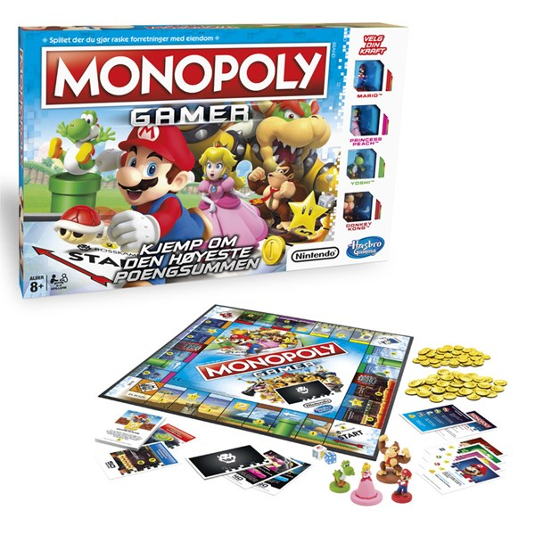 HGA Monopoly Gamer NO, Hasbro Games