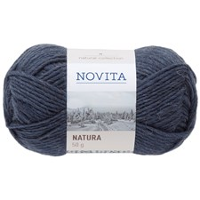 Novita Natura Ullgarn 50g, innsjø 015