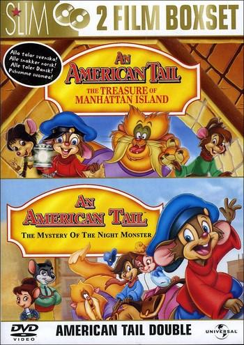 Fievel - Skatten på Manhattan + Mysteriet med nattmonstret (2-disc)  Universal