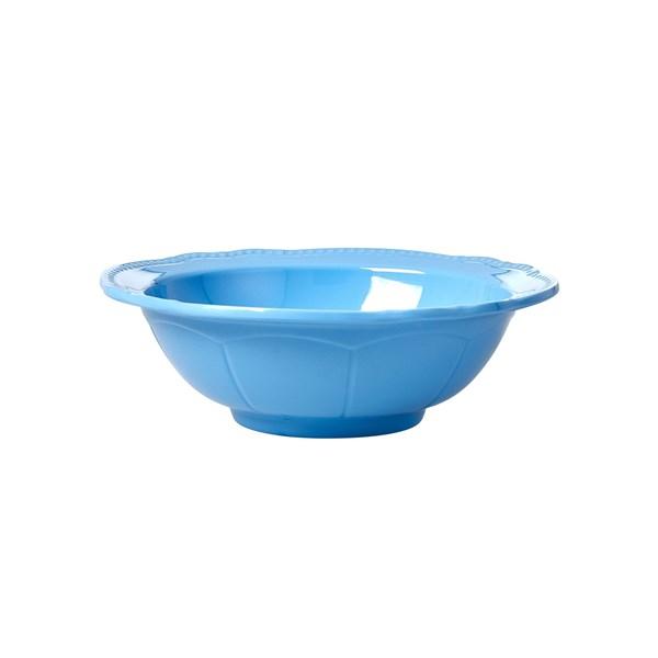 Rice Skål D  15 cm Melamin Blå (blå) - tallrikar & skålar