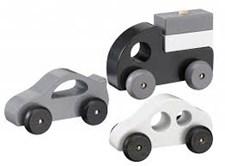 Trebilsett,Svart, Kids Concept