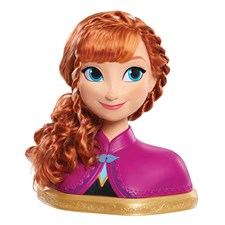 Disney Deluxe Frozen Anna Styling head