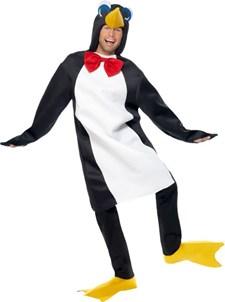 Pingvin Kostyme i Hvit og Svart