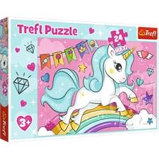 Sweet Unicorn, Puslespill, Maxi 24 brikker, Trefl