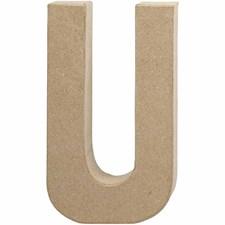 Bokstäver av Papier-Maché U 20,5 cm 1 st