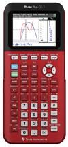 Räknare Texas TI-84 Plus CE-T, Röd