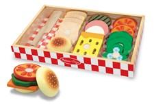 Sandwichset i trä, Melissa & Doug