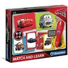 Match and Learn, Sifferspel, Disney Pixar Cars 3