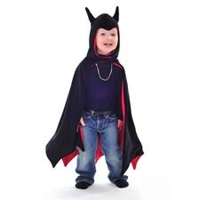 Batmancape med huva,3-7 år