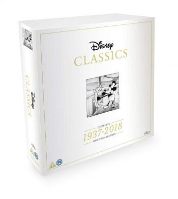 Inget (Storm) Disney Classics: 1937-2018 (Blu-ray) (55-disc)