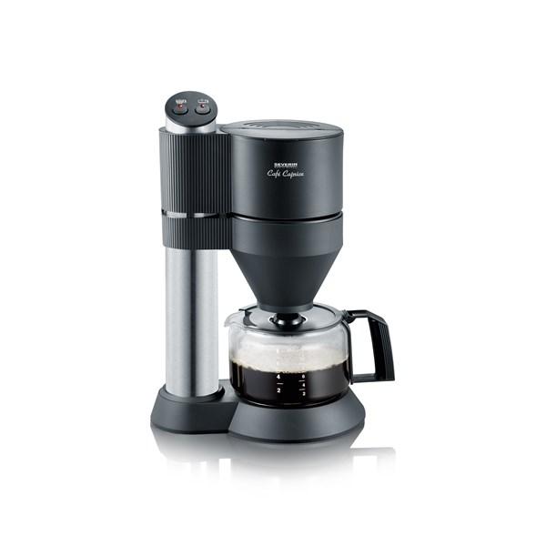 Severin Café Caprice Kaffebryggare Rostfritt stål Svart