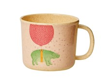 Rice Animal Print Mugg Rosa