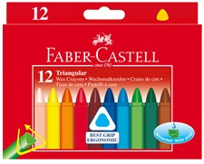 Vaxkritor Faber-Castell Pappetui 12-pack