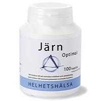 Helhetshälsa Järn Optimal, 100 kapslar