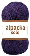 Järbo Alpacka Solo 50g Auberginlilla 29128