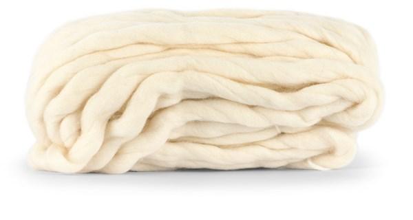 Knit At Home Chunky Wool Lanka Villalangat 200 g luonnonvaalea 931