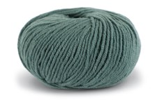 Knit At Home Superfine Merino Wool Ullgarn 50 g Mørk Grågrønn 323