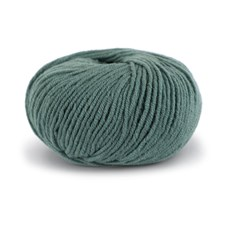 Knit At Home Superfine Merino Wool Ullgarn 50 g Mørk Grågrønn 323