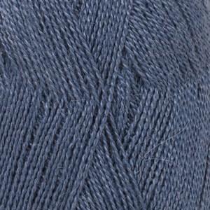Drops, Lace Uni Colour, Garn, Alpakkamiks, 50 g, Kongeblå 6790
