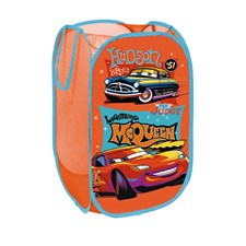 Förvaringskorg, Röd/ orange, Disney Cars