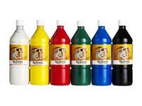 Readymix färglära 1000ml x 6 färger