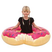 Badring Rosa Donut 120 cm