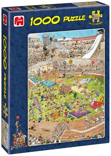 Jan van Haasteren, The Olympics, Pussel 1000 bitar
