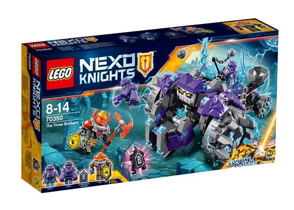 Kolme veljestä, Lego Nexo Knights (70350)