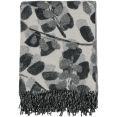 GANT Home Grove Pläd Bomull/Lammul/Polyamid 130x180 cm Elephant Grey