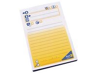 Notater POST-IT melding stor 102x149 mm